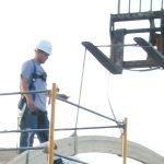 Setting Glulam Beams on Roof