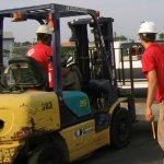 United Rentals Forklift