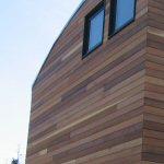 Cedar Siding on Solar House