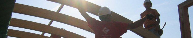 Installing Roof Beams