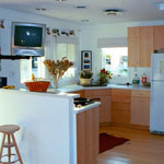 2002 Maryland Solar Home Kitchen