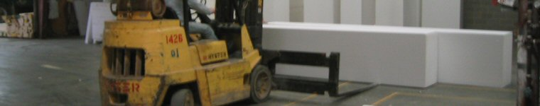 Moving Foam in the R-Control Warehouse