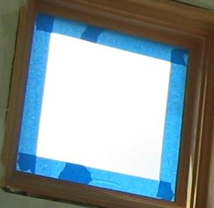 Taped Window