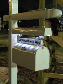 120 Decathlete Way Mail Box